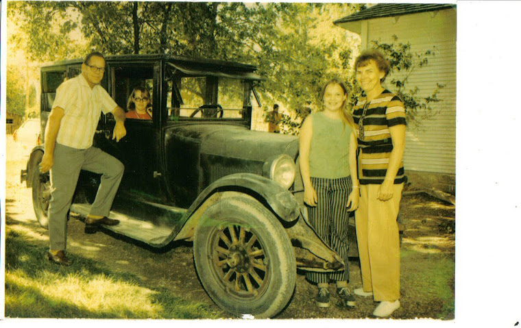Great Uncle Thorvald Rasmussen's 1925 Dodge