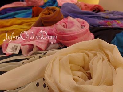 Shawl batik Deanoor