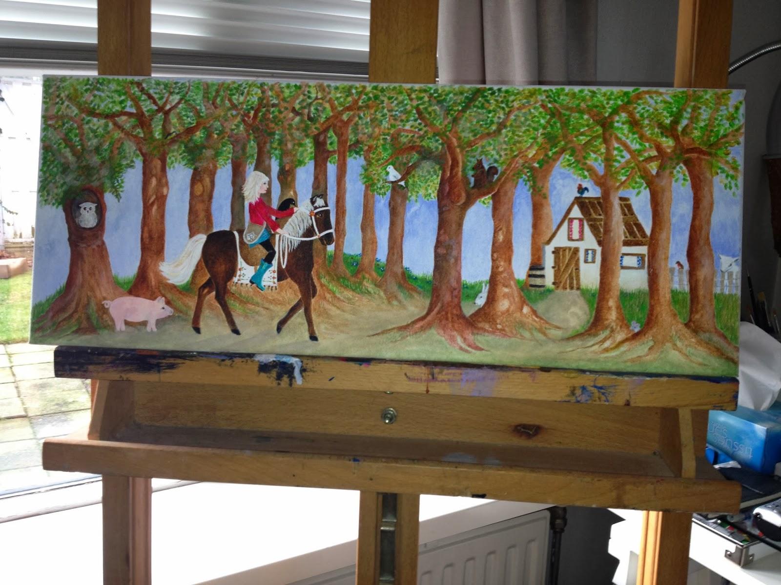 baan schilderen kinderkamer
