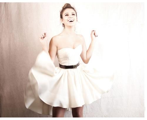 Vestido da cantora Paula Fernandes