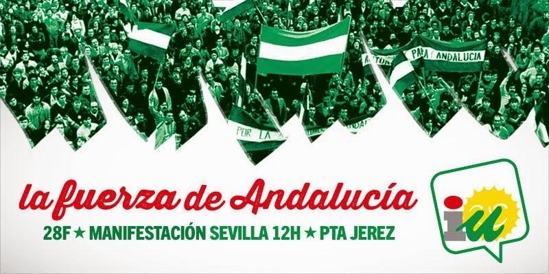 Manifestación 28 F en Sevilla
