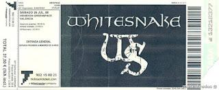 entrada de concierto de whitesnake
