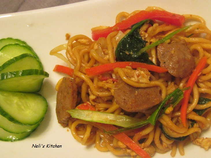 Indonesian Fried Noodles