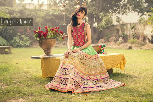Zahra Ahmed New Winter Dresses Collection 2016