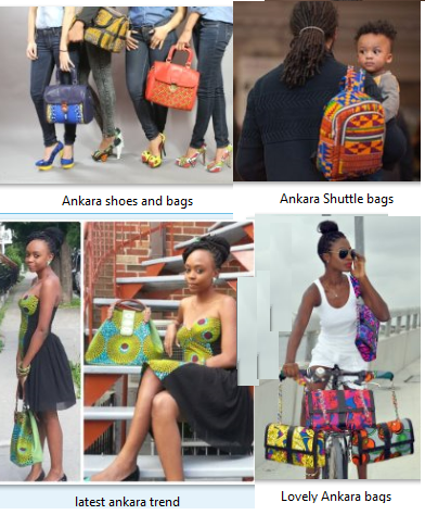 Ankara handbags and African prints