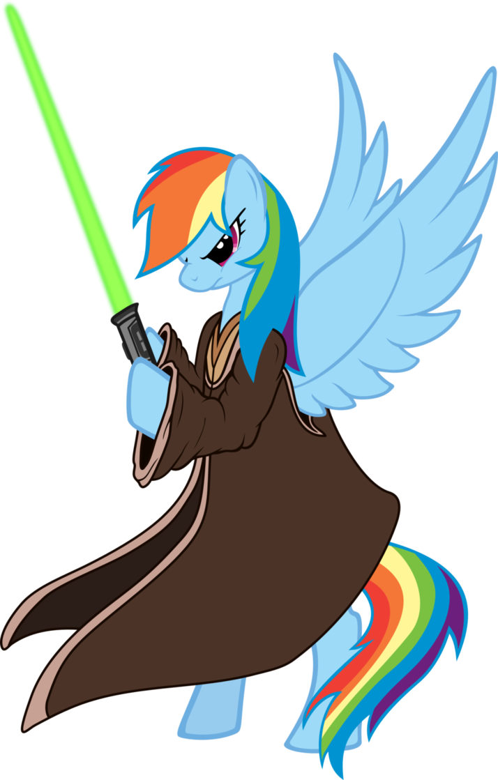WHY U NO POST MOAR? - Page 4 Rainbowdashjedi_by_roguedarkjedi-d43avso
