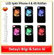 LED Işıklı iPhone 4 & 4S Kılıfları