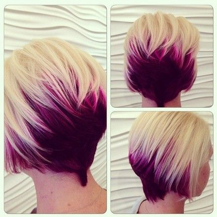 Stunning Dual Color Bob Haircuts Omg Love Beauty