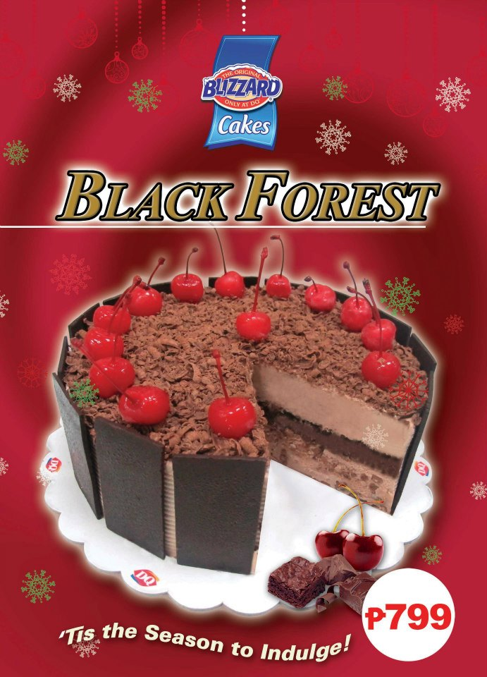 Lafang Adventures Dairy Queen Black Forest Collection