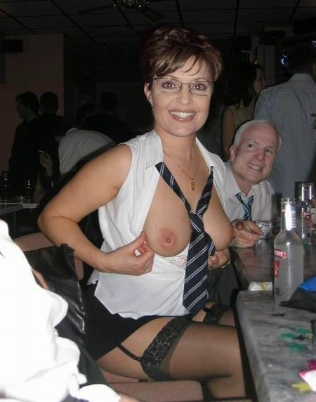 young sarah palin naked
