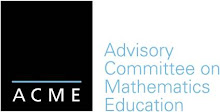 ADVISORY COMMITTEE ON MATHEMATICS EDUCATION