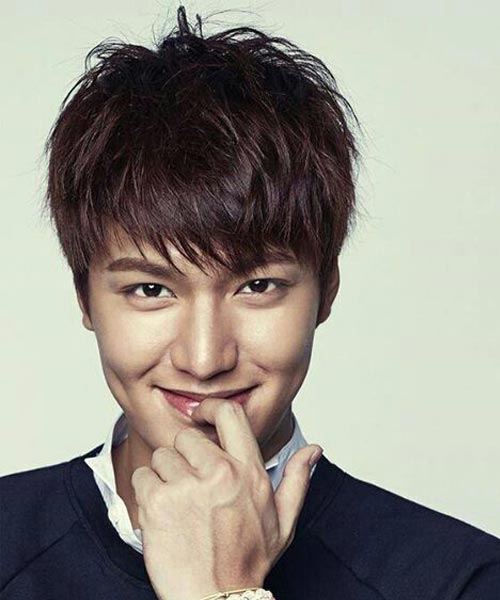Lee Min Ho the Heirs hairstyle