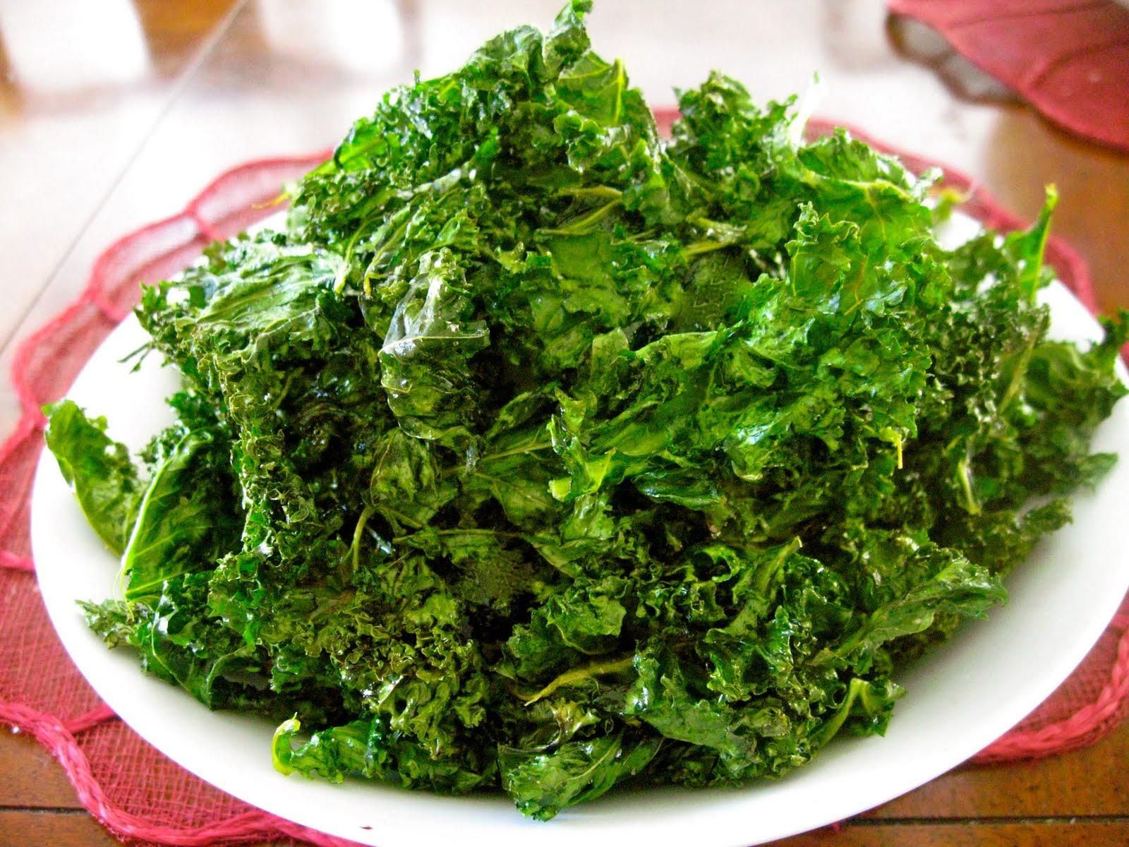 Baked Crispy Kale Recipes — Dishmaps