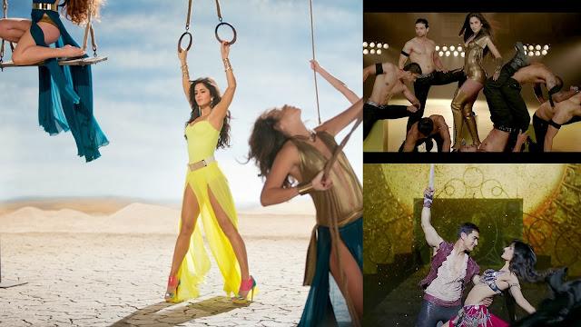Katrina Kaif looking hot in Dhoom 3 movie songs