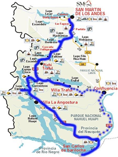 Ruta de Las Siete Lagos Bariloche Argentina Travel Wonders