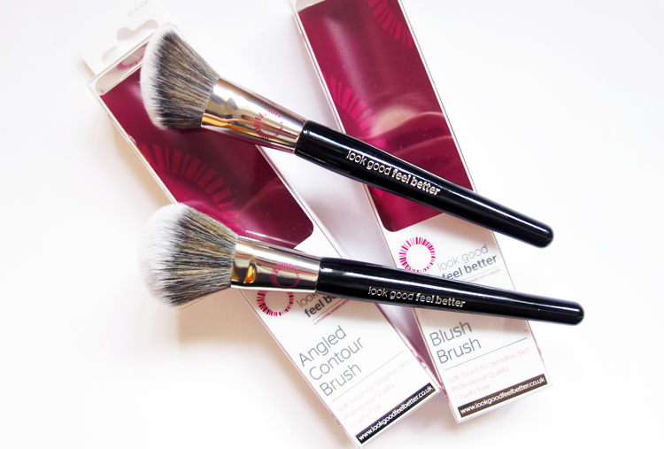 Look Good Feel Better Angled Contour Brush & Blush Brush