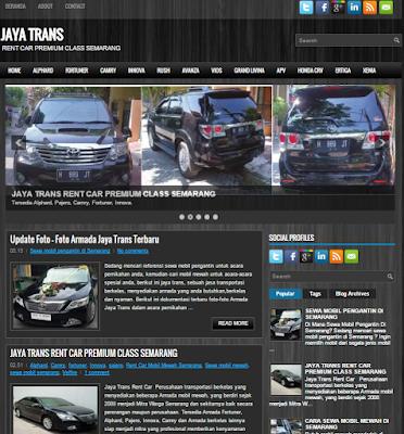 Sewa Mobil Mewah di Jawa Tengah
