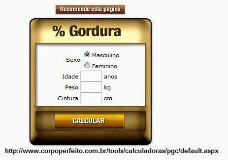 Calculadora % Gordura