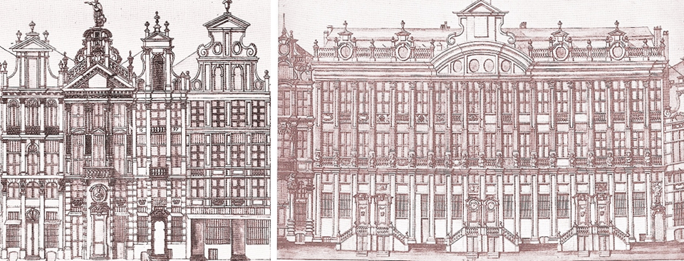 Les Maisons de la Grand-Place de Bruxelles - Ouvrage collectif de 11 historiens direction rédactionnelle de Vincent Heymans - ULB  (CFC éditions) - Bruxelles-Bruxellons