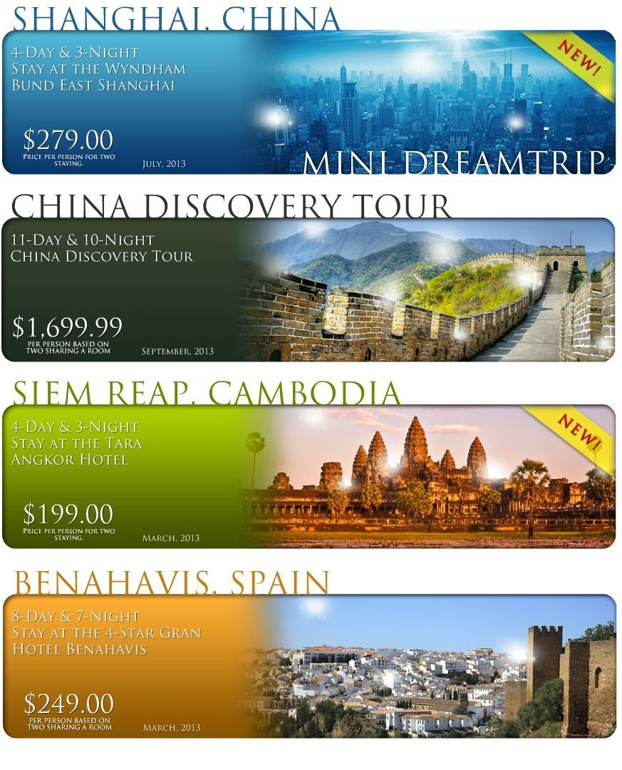 Ask Your Representative To Show Latest Dreamtrips Life Package