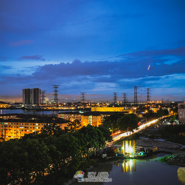Timelapse photography using Samsung NX1