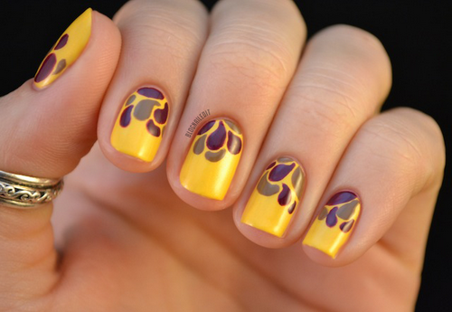 Lindas uñas con diseños | Otoño con moda