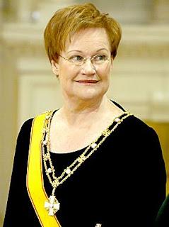 Tarja Kaarina Halonen-President Of Finland  to-11