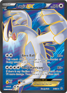Lugia EX Ancient Origins Pokemon Card