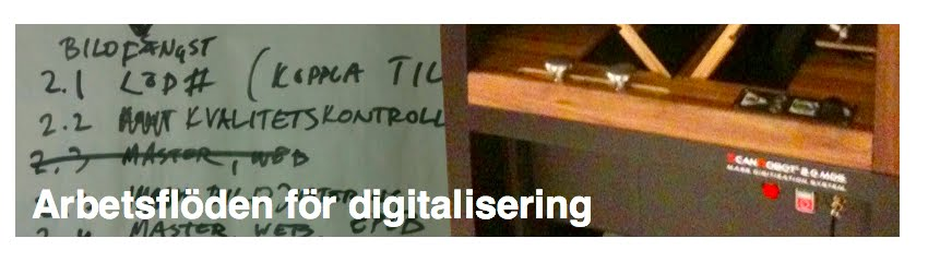 Arbetsflöden för digitalisering