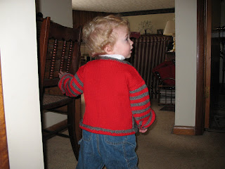 Jake in OSU sweater