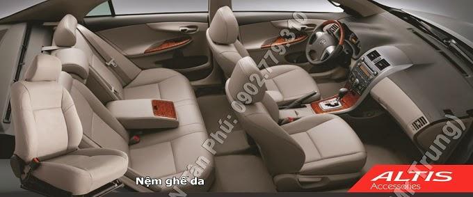 Phụ Kiện Toyota Corolla Altis 2.0 đồ chơi, nội thất toyota