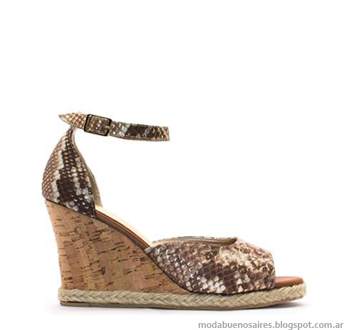 Sandalias 2015. Anjou primavera verano 2015 moda calzado femenino.