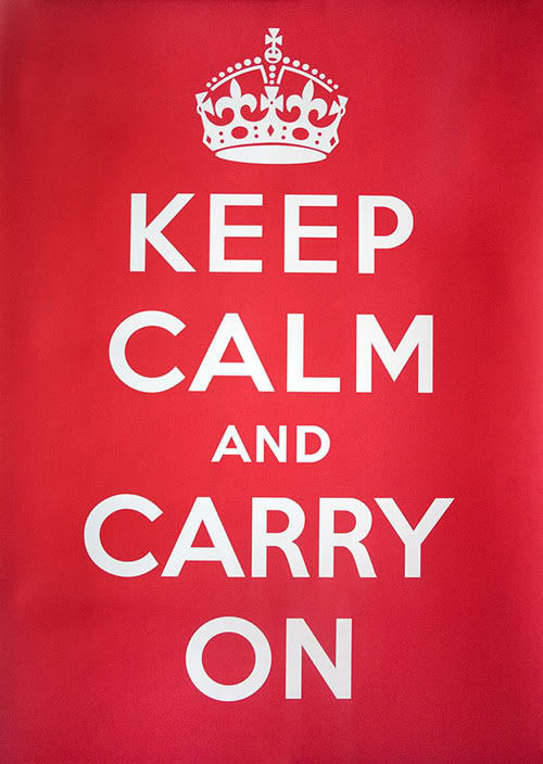 Teaching @PineTree: Keep Calm and Carry On