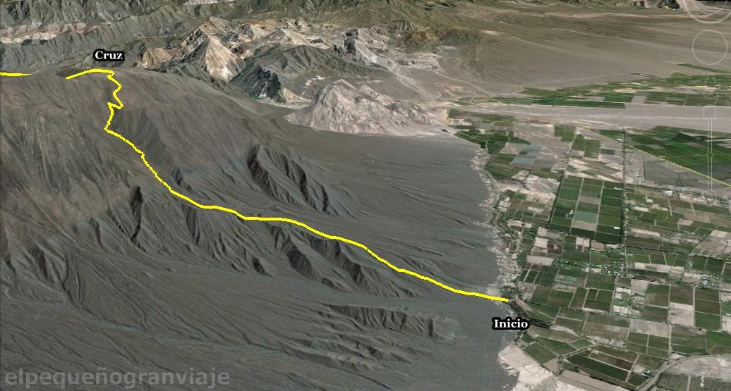 Circuito Zonda : Trekking san juan ascenso sierras azules i el pequeño