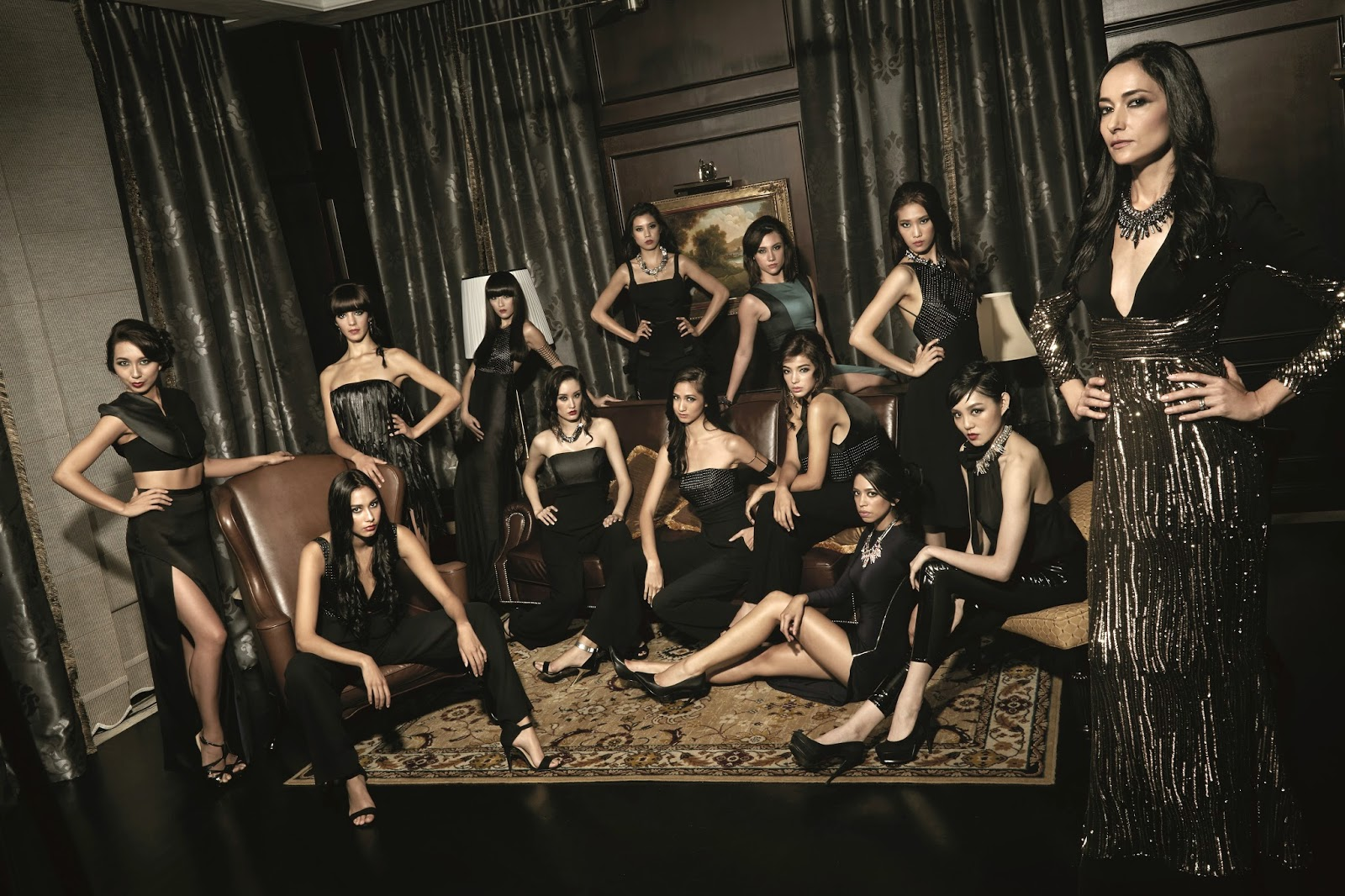 SUPERMODELME SEASON 5 RETURNS TO DIVA  WITH FOUR SIRENS IN MANILA