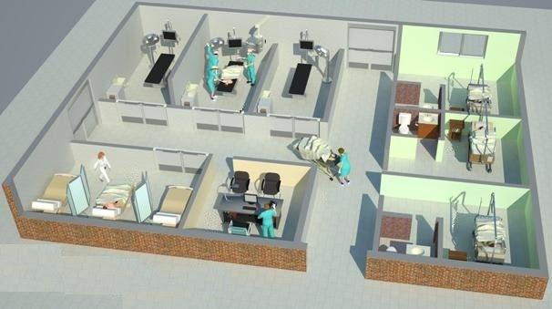 Cirug a experimental departamento quir rgico for Cuarto quirurgico