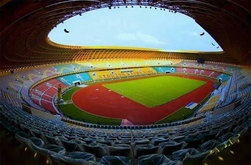 Stadion Utama PON XVIII di Provinsi Riau