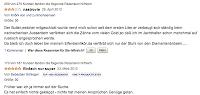 Auf Amazon.de finden sich in den User-Kommentaren zum Champagner keine ernstzunehmenden.