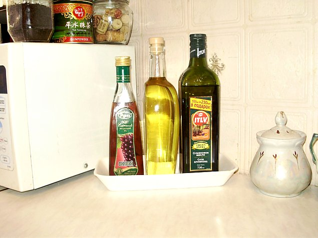 порядок на кухонном столе
