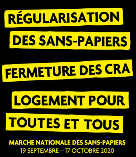 MARCHE NATIONALE DES SANS-PAPIERS