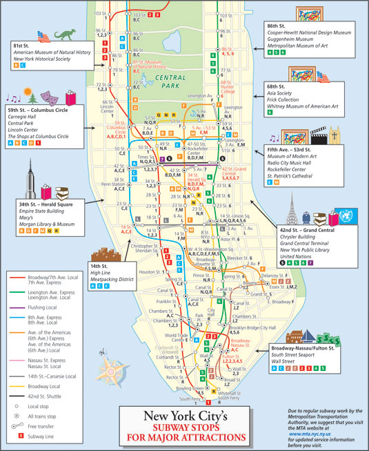 New york for dummies the subway mercoled tutta la for Appartamenti vacanze new york city manhattan