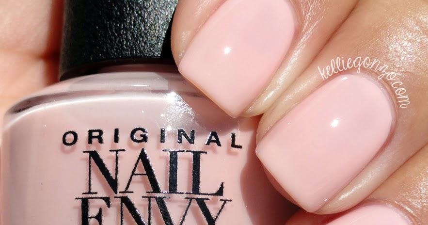 Funky Opi Nail Envy Bubble Bath Swatch Frieze - Nail Art Design ...