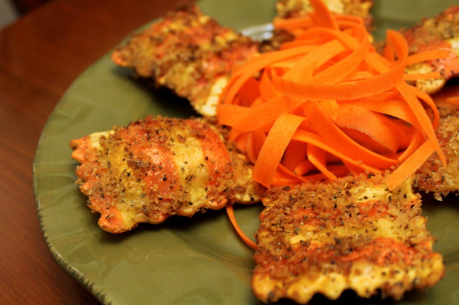 Bentobloggy: Panko & Sage Crusted Butternut Squash Ravioli