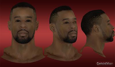 NBA 2K13 DeAndre Jordan Cyberface Mod