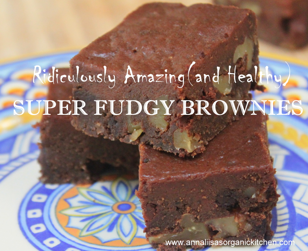 Amazing gluten-free grain-free fudgy brownies with butternut squash