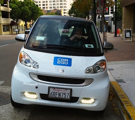 Cobb On The Road Electric Car2Go is a Gas
