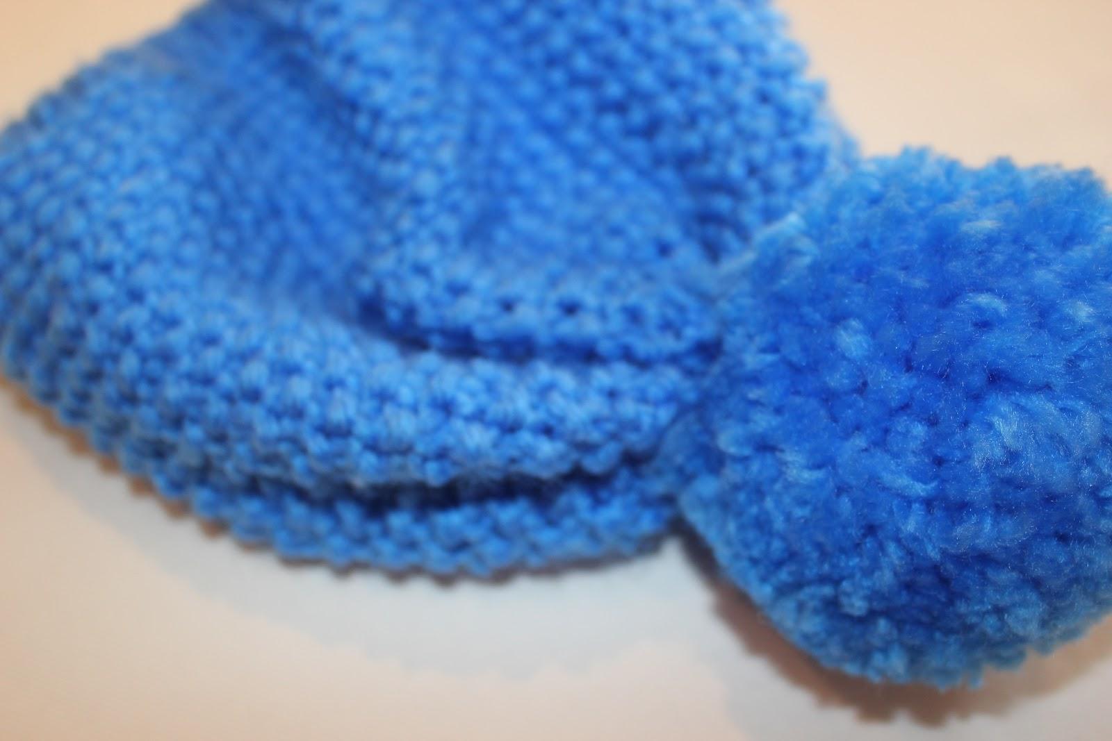 Aprender a tejer: Cómo hacer un gorro de lana con punto de arroz ...