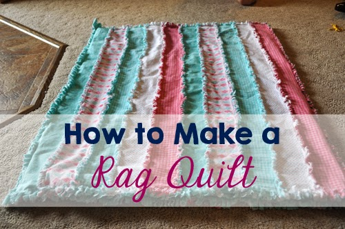 Late Night Crafts Creations Diy Rag Quilt