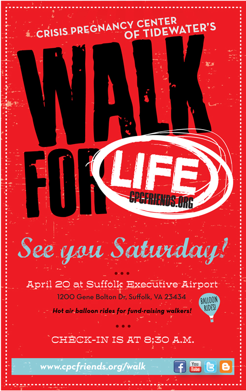 Walk for Life at Suffolk Executive Airport on April 20, 2013