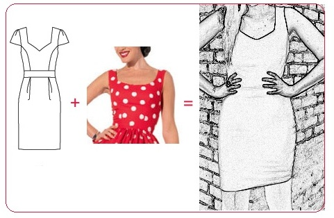 Attractive Patterns For Sewing Dresses Download Free Crest - Easy ...